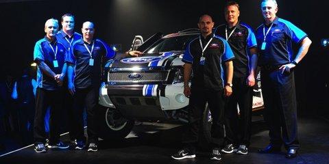 Ford Ranger gets V8 power for 2014 Dakar Rally
