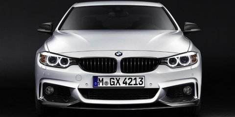 BMW 4 Series with M Performance parts previews M4