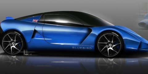 Bluebird DC50 electric sports car, GTL Formula E racer set for launch