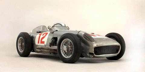 Fangio's Mercedes-Benz F1 car sells for record $32M at Goodwood