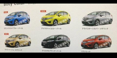 Honda Jazz: larger next-gen city car leaked