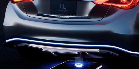 Infiniti LE-based production EV postponed to wait for better tech