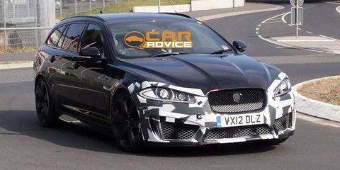 Jaguar XFR-S Sportbrake: 404kW super station wagon leaked