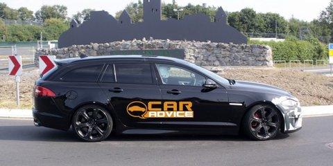 Jaguar XFR-S Sportbrake: super station wagon spied