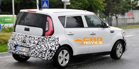 Kia Soul EV: Korean's first global electric car spied