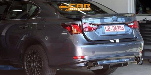 Lexus GS-F: Japanese M5 fighter spied