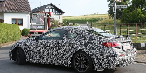 Lexus IS-F Coupe: new Japanese performance two-door spied
