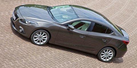 Mazda 3 sedan: fresh gallery leaked