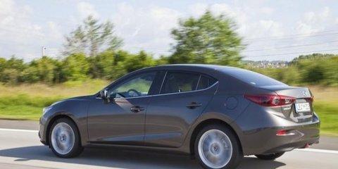 Mazda 3 sedan revealed in leaked images