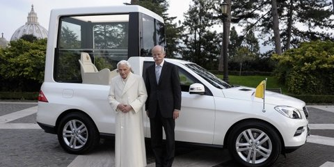 Pope Francis recommends 'more humble' cars for priests, nuns