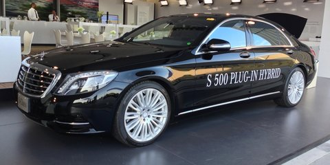 2017 Mercedes-Benz S500e plug-in hybrid to feature wireless charging