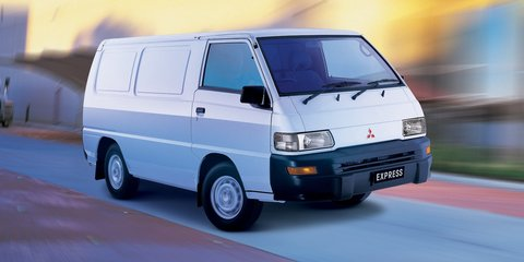Mitsubishi Express Van dropped: won't be replaced