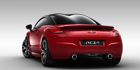 Peugeot RCZ R: 199kW, 5.9sec 0-100km/h and here in March