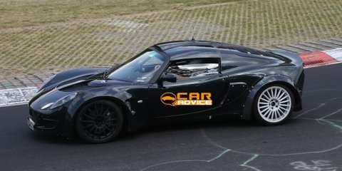 Renault Alpine, Caterham sports car mule spied testing at Nurburgring