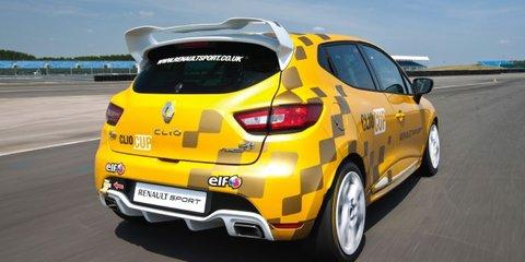 Renault Clio Cup revealed ahead of 2014 racing season