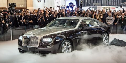 Rolls-Royce Wraith: $645K coupe debuts in Oz with GPS-gearbox tech
