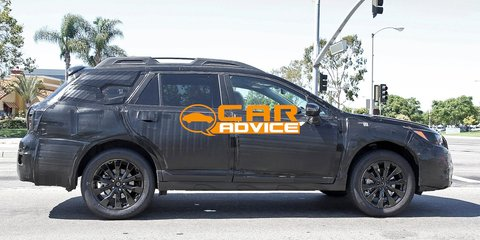 Subaru Outback: next-gen spied for the first time