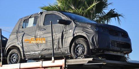 Suzuki Alto: next-gen city car spied
