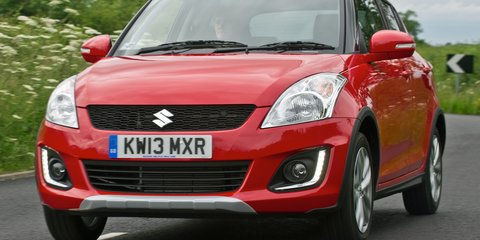 Suzuki Swift facelifted with all-wheel-drive, but not for Oz