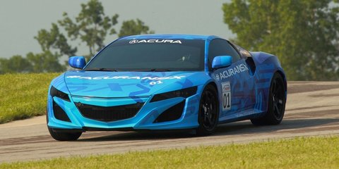 Honda NSX prototype to light up IndyCar grid