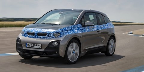 BMW i3 drops camouflage to reveal exterior details