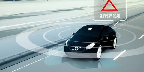 Volvo Car 2 Car technology to save fuel, time and lives