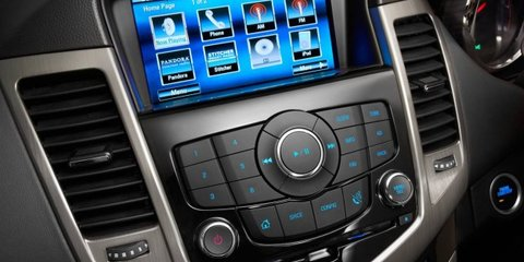 Holden Cruze sedan, hatch upgraded with new interior tech