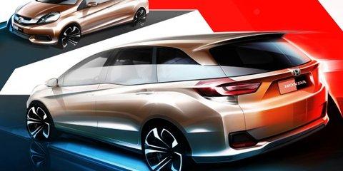 Honda Brio-based MPV sketches reveal seven-seater for Asian markets