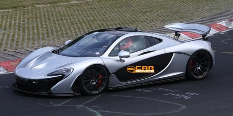 McLaren P1 XP2R: mystery prototype spied at Nurburgring