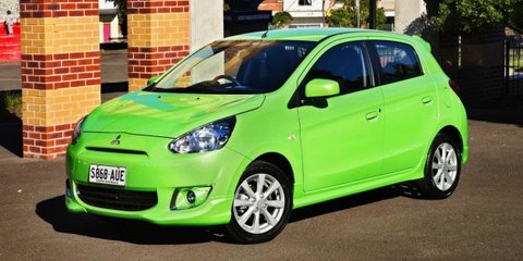 Mitsubishi Mirage Pop Green special edition released