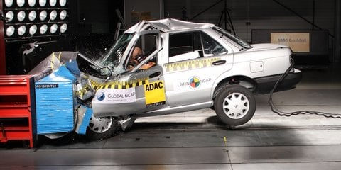Nissan Tsuru v Nissan Versa:: Global NCAP crash test demonstrates concerns in developing markets