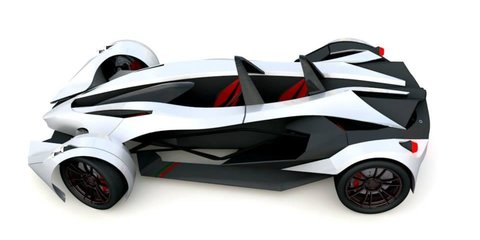 Ron RXX: Mexican brand debuts swoopy sports car
