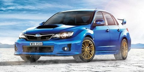 Subaru WRX RS40: $44,490 limited edition is the last of its kind