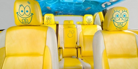 2014 Toyota Kluger goes family friendly with SpongeBob SquarePants