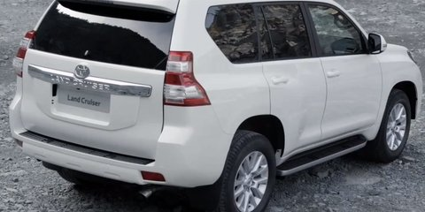 2014 Toyota Prado: facelifted SUV here in October; three-door dropped