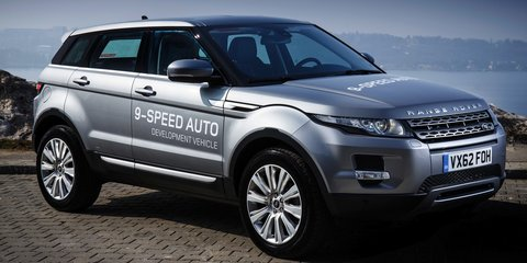 Range Rover Evoque updated for 2014, new nine-speed auto added