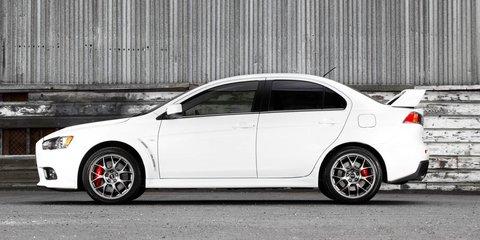 Mitsubishi Lancer Evolution updated for 2014