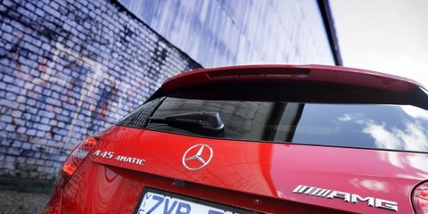 Mercedes-Benz A45 AMG targets younger performance buyers