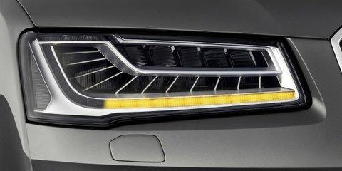 Audi A8, S8: luxury limousines teased