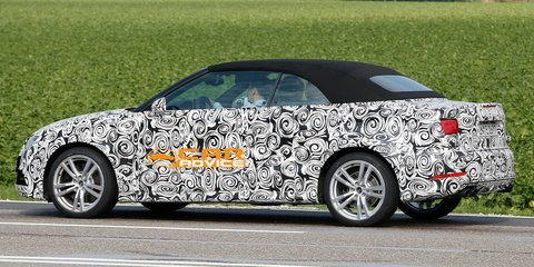 Audi S3 Cabriolet: performance drop-top spied