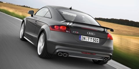 Audi TTS competition special edition marks production milestone