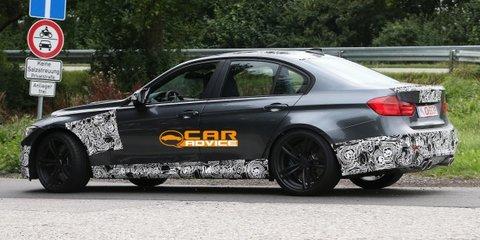 BMW M3: next-gen performance sedan spied
