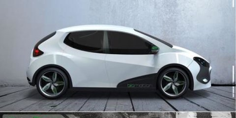 BioMotion Alux concept: Mexican electric car revealed