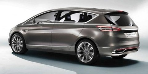 Ford S-Max: sleek people-mover concept revealed