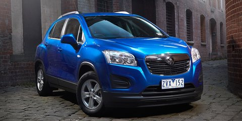 Holden Trax: pricing and specifications