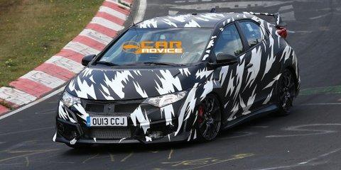Honda Civic Type-R Nurburgring teaser