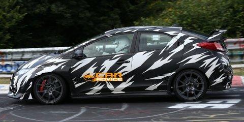 Honda Civic Type-R: next-gen hot-hatch spied on road, track
