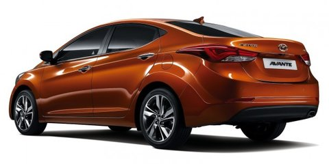 Hyundai Elantra: facelifted sedan unveiled in Korea