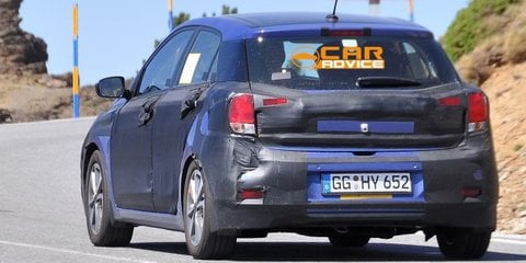 Hyundai i20: second-gen city car spied with less camouflage
