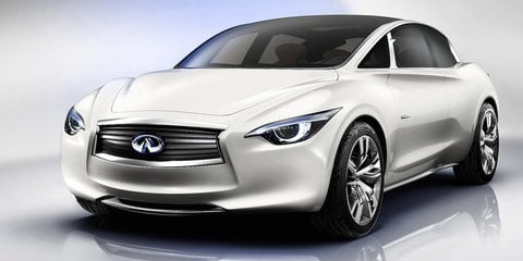 Infiniti Q30: compact crossover concept revealed